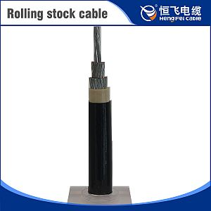 Tinned Copper Heat-Resistant 125 Centigrade Rolling Stock Cable