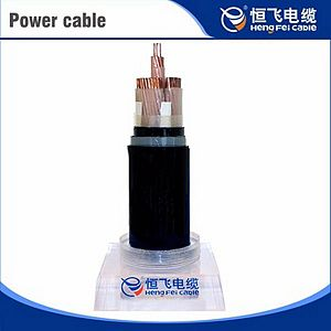 XLPE insulation low-smoke halogen-free polyolefin flame retardant power cable