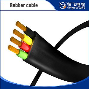 EPR insulation Rubber Sheath Metallic Shield Radio Installation Cable
