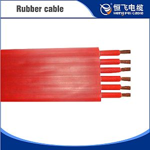 Silicon Rubber Insulated Flat Cable