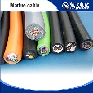 XLPE Insulation Flame Retardant Class A Retardant Marine Cable