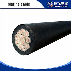 Low Voltage Cross-linked Polyolefin Sheathed Marine Control Cable