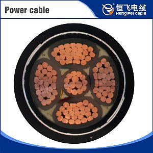 XLPE Insulated PVC Sheathed Power Cable for Oil Platform