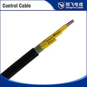 Oil Platform Silicon Rubber Insulation Copper Control Cable
