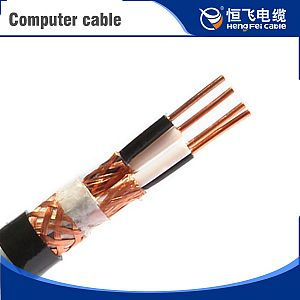 Rated Voltage 300/500V PE Insulated Computer Cable