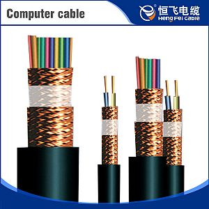 300/500V Fluorinated Ethylene Insulation Copper Wire Shield Computer Cable