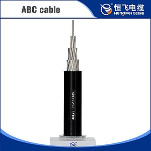 XLPE Insulated Aluminum Conductor ABC cable and Aerial Bundled Cable