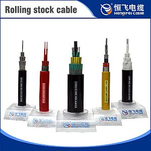 Single core Heat Resistant 125 degree Copper Core Rolling Stock Cable