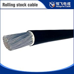 Rolling stock cable(Rated voltage 750V heat-resistant 100/125 heat free-halogen flame retardance rail vehicle control cable)