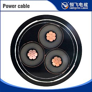 Low smoke halogen free copper wire braid cable