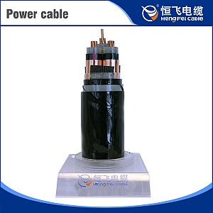 XLPE insulated STA/SWA power cable with copper or aluminum conductor