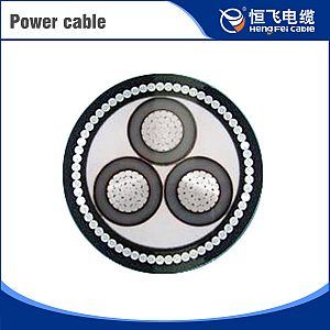 Thin Steel Wire Armoured PE sheath Power Cable