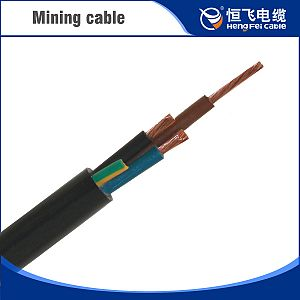 0.3/0.5KV Rubber Mining Cable(MYQ)