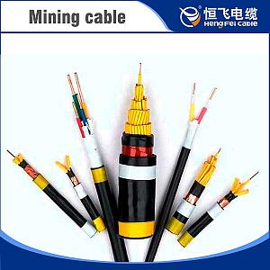 PVC insulated PVC sheathed control cable for mining purpose