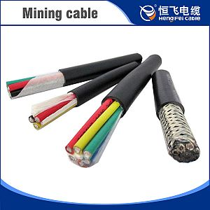 XLPE insulated and PVC sheathed flam retardant mining control cable