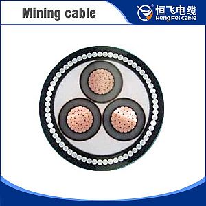 Low Voltage Warehouse Industrial CU/XLPE/PVC Mining Power Cable