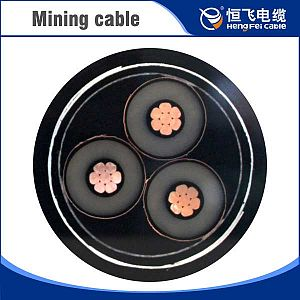 Top Level heavy duty mobile flexible mining power cable