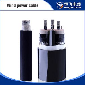 PVC Insulation Silicon Rubber Sheath Wind Power Cable