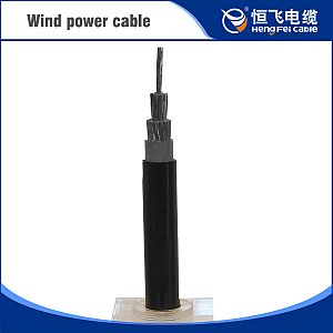XLPE Insulation Silicon Rubber Sheath Wind Power Cable