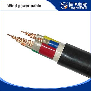 EPR Insulation Silicon Rubber Sheath Wind Power Cable
