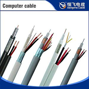 450/700V Fluorinated Ethylene Insulation Silicon Rubber Sheath Computer Cable
