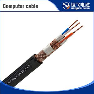 Copper Wire Braided Antijamming Computer Cable