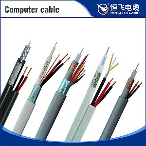 Copper Wire Braided Shield Computer Power Cables