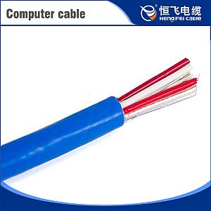 Super Quality multicolors 300/500v oil-resistance computer cable