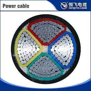 Cu 35kV PVC/XLPE insulation Power Cable