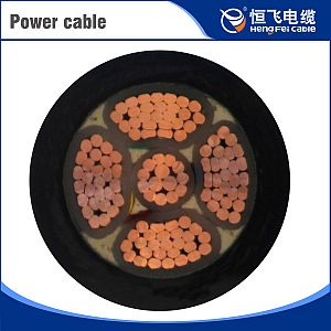 XLPE insulated steel tape armored power cable