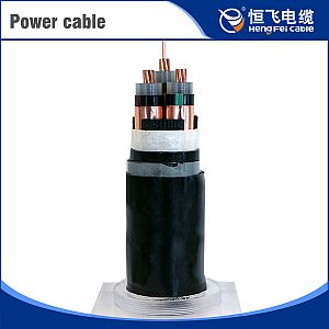Copper Core Thin Steel Wire Armored Power Cables