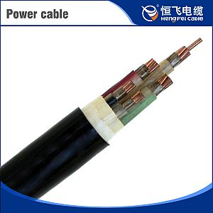 Fire-Resistant Waterproof 10Kv Aluminum Conductor Power Cable